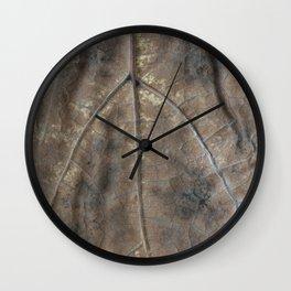 Falling leaf pattern Wall Clock