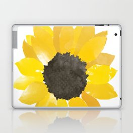 Watercolor Sunflower Laptop & iPad Skin