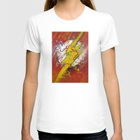 the flash T-shirts featuring Flash by Big Tortoise Art (Art by JasonKoelliker)
