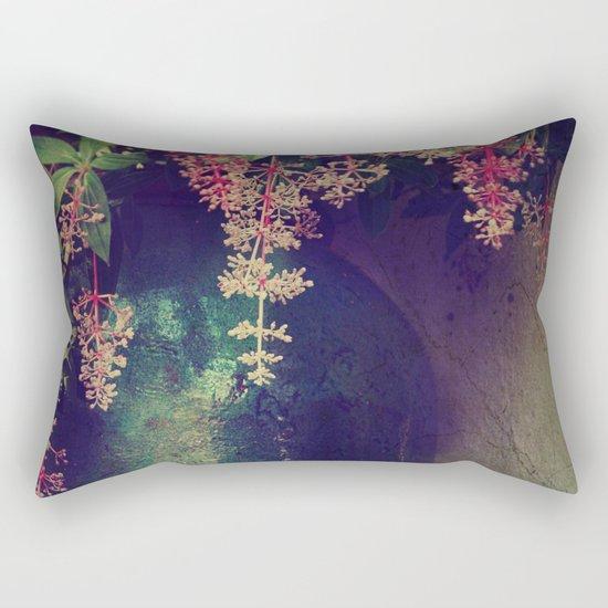 Wanton Blossoms Rectangular Pillow