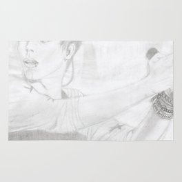 Luke 5 Seconds in Concert Drawing Rug