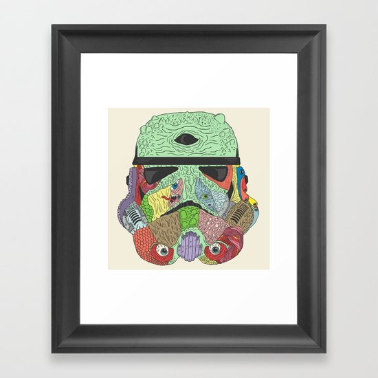 Gore Trooper  Framed Art Print