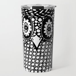 Hypnotise Owl Travel Mug