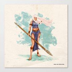 Rima The Jungle Girl Canvas Print