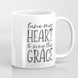 Tune my heart to sing thy grace Coffee Mug
