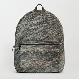 Grey Fur VI Backpack