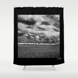 Durango Colorado Farming Shower Curtain