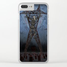 the scarecrow Clear iPhone Case