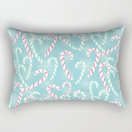 Frosty Canes Rectangular Pillow