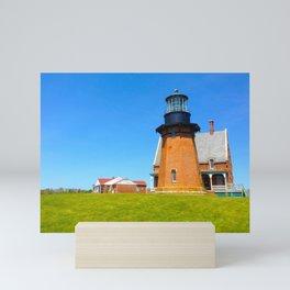 Block Island Lighthouse Mini Art Print