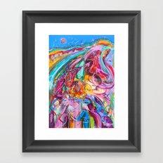 Inside you Framed Art Print