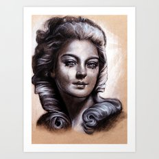 Banality of Regality Art Print