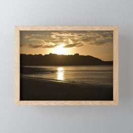 Sunrise over Pendennis Point Framed Mini Art Print