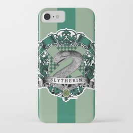 Slytherin Color iPhone Case
