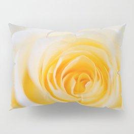 Delicate yellow-white roses Pillow Sham