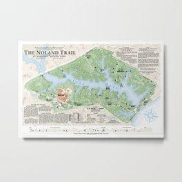 The Noland Trail Metal Print