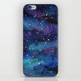 Galaxy Space Painting Stars Cosmic Universe Nebula Art iPhone Skin
