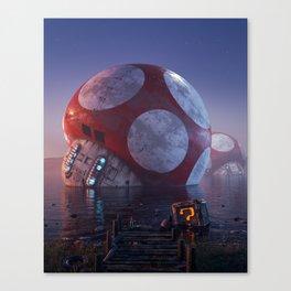 Mario Super Mushroom Canvas Print