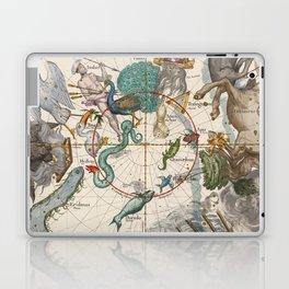 Old Constellation Map Year 1693 Laptop & iPad Skin