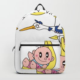 Baby delivered by Pelican Backpack