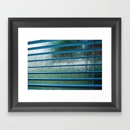 too cold to get out of bed Framed Art Print