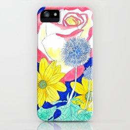 London Flora iPhone Case