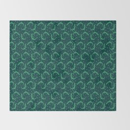 Little Lizards Throw Blanket