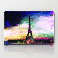 eiffel tower iPad Cases featuring eiffel tower by haroulita