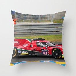 Motor Sport Racing Car Throw Pillow