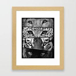 Primal Instinct - version 3 - no text Framed Art Print