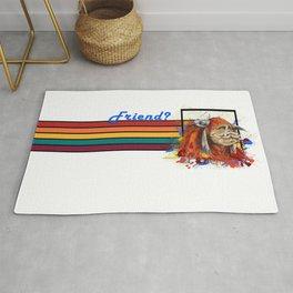 Friend Banner Rug