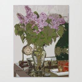 Lilas Canvas Print