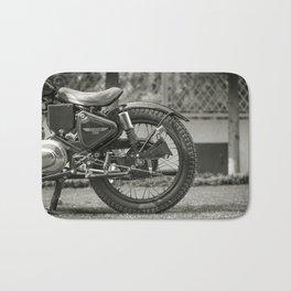 The Vintage Royal Enfield Bullet 350 Motorcycle Bath Mat