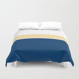 Modern Minimal Striped Blue 01 Duvet Cover