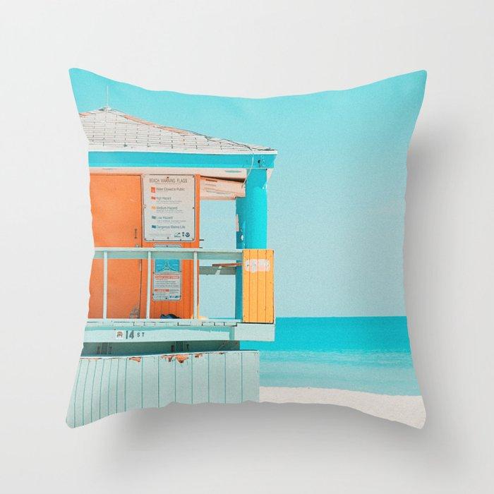 Santa Monica / California Throw Pillow