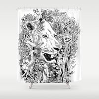 into the wild Shower Curtains featuring Wild by AnggaAgustiya