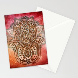 Hand of Fatima Stationery Cards