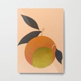 An Orange and a Lemon Metal Print