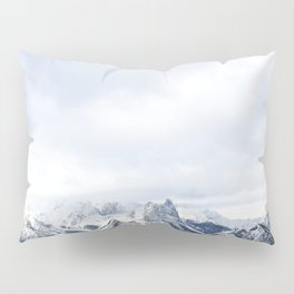 Looking out over the Rockies, in Banff Pillow Sham