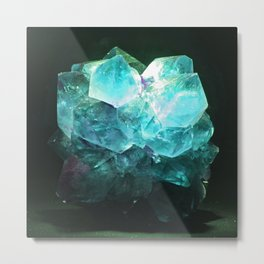 My Magic Crystal Story Metal Print
