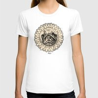 astronomy T-shirts featuring Astronomy Pug by beart24