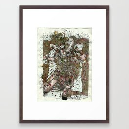 Martyr Dumb Framed Art Print
