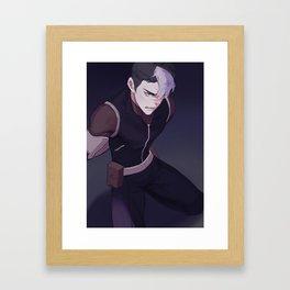 Voltron Shiro Framed Art Print