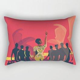 Russian Riot Rectangular Pillow