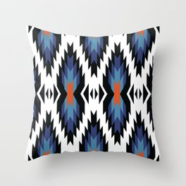 American Native Pattern No. 217 Throw Pillow