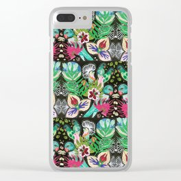 Flora + Fauna No.3 Clear iPhone Case