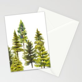 Coniferous Forest 1 Stationery Cards