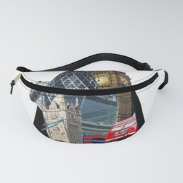 London UK Symbol ArtWork Cities Fanny Pack