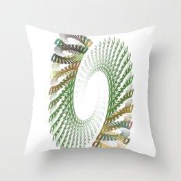 Spiral Stair Throw Pillow