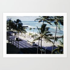 Mom & Dad's Hawaii Trip Slide No.2 Art Print